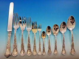 Meadow by Gorham Sterling Silver Flatware Set for 12 Service 176 pieces Dinner - $22,500.00