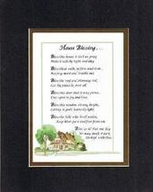 Touching and Heartfelt Poem for Home - House Blessing Poem on 11 x 14 inches Dou - $15.79