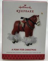 Hallmark Keepsake Ornament A Pony for Christmas 16th in Series 2013 - $19.99