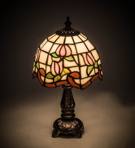 "12"" H  Roseborder Mini Lamp - £120.56 GBP"