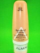 Almay Best Blend Forever Makeup Foundation SPF 40 130 Neutral 1 fl oz New!!!!!!! - $8.09