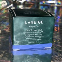 New In Box 10mL Laneige Cica Sleeping Mask Hypoallergenic& Replenishing