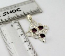 Amethyst Silver Overlay Handmade Pendant Jewelry -As-27-37 - $2.94