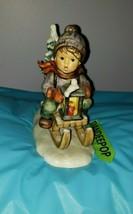 Goebel MJ Hummel Signature Ride Into Christmas Figurine 1971 396  W. Ger... - $69.29