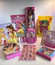 Disney Princess Pre-Made & Pre-Filled Gift Basket Full Of Goodies  - $26.61
