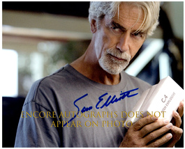 SAM ELLIOTT Authentic Original  SIGNED AUTOGRAPHED 8X10 w/ COA 336 - $60.00