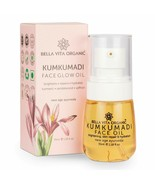 Bella Vita Organic Kumkumadi Face Glow Oil with Sandalwood & Saffron 35 Ml - $14.95