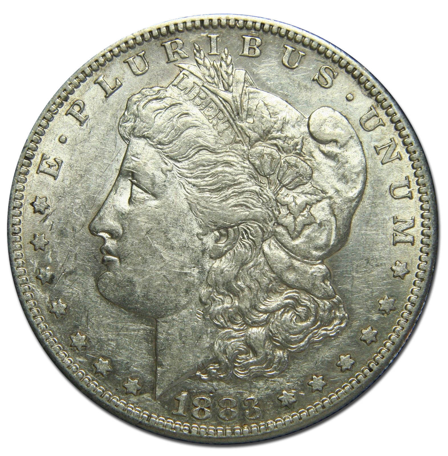 1883S MORGAN SILVER DOLLAR COIN Lot# MZ 2729