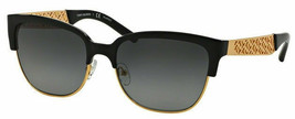 Tory Burch TY6032 3111T3 56 Women Sunglasses - Black/Gold Frame - $89.09