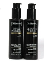2 Bottles TRESemme 4.8 Oz Between Washes Smooth Renew Anti Frizz Shine Cream - $27.99