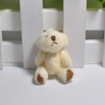100Pc/Lot 4.5/6CM/7CM Mini Small Joint Teddy Bear Plush Toys,Cute Mini Joint Bea image 5