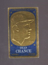 1965 Topps Embossed #66 Dean Chance EXCELLENT Condition - $1.29