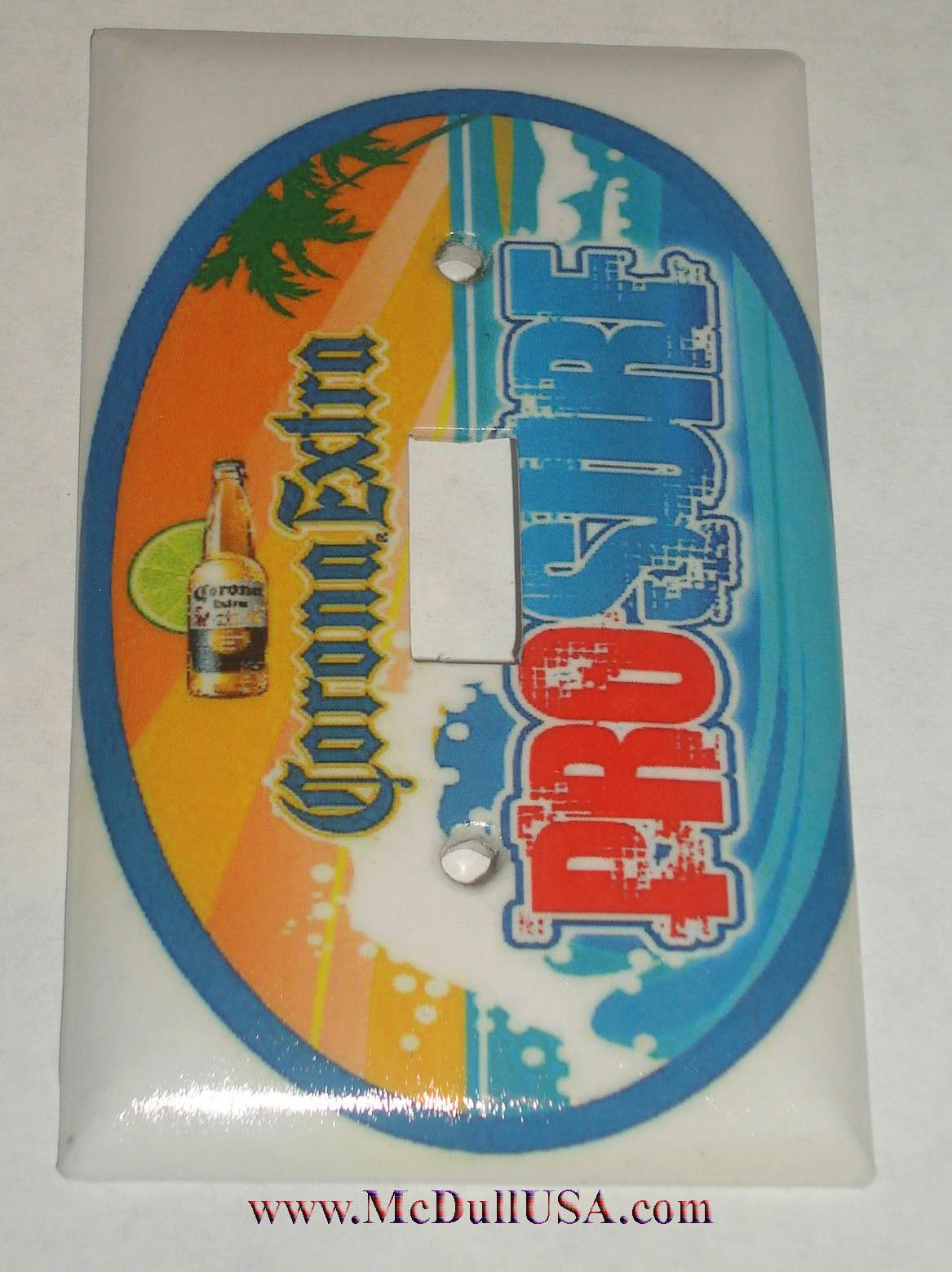 Corona sign logo single toggle