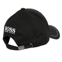 Hugo Boss Men's Adjustable Sport Embroidered Cup Logo Golf Hat Cap Black image 3