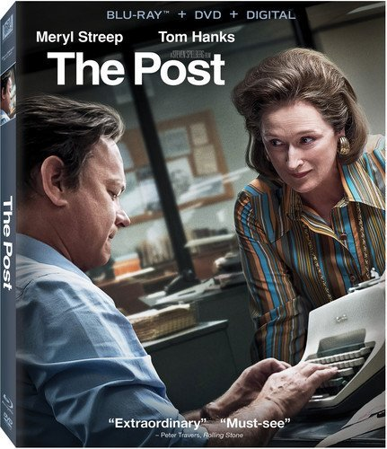 The Post [Blu-ray+DVD, 2018]