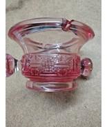 Vintage Pink Depression Glass Ashtray Heavy - $4.94
