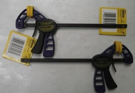 Irwin Tool 53006 Micro Quick-Grip Bar Clamp And Spreader 2pcs. - $9.90