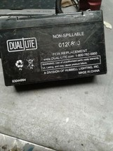 UPG 6V 12Ah F2 Replacement Battery for Dual Lite 0120800, 12800