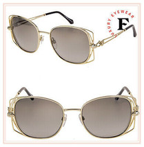 ROBERTO CAVALLI RC1031 CASENTINO Metal Gold Smoke Gradient Sunglasses 10... - $198.00