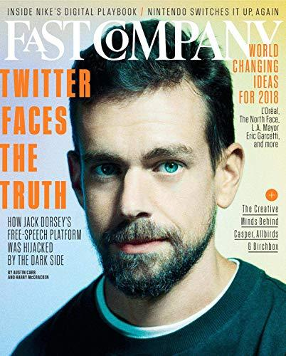 Primary image for Fast Company Magazine (May, 2018) Jack Dorsey Twitter Cover [Single Issue Magazi