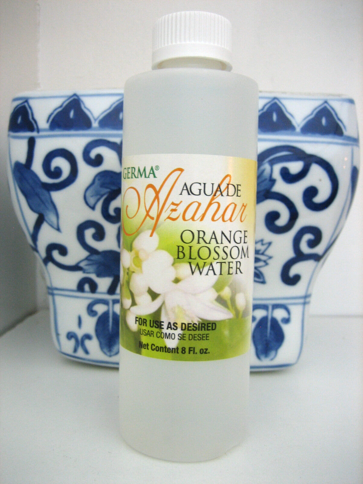Germa Orange Blossom Water Body Splash (Agua de Azahar) 8 oz