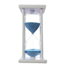 George Jimmy 30 Minutes Countdown Timer Hourglass Wooden Shelf Sand Cloc... - $29.68