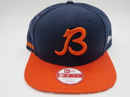 Chicago Bears Blue Throwback New Era 9FIFTY NFL Sideline Snapback Hat Cap -  £18.69 GBP 974f8f8e571