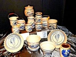 Daviess County WESTERWALD Pottery 14 piece collection AB 319 image 1