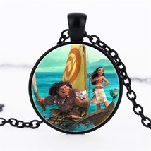 Hot! 3 Color 2017 NEW Necklace Lovely Anime Magic Elf Moana  Sweater Cha... - $5.21