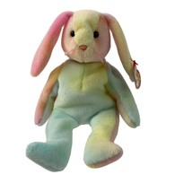 Ty Beanie Baby Tye Dyed Easter Bunny Rabbit Hippie 1998 Retired - $13.36
