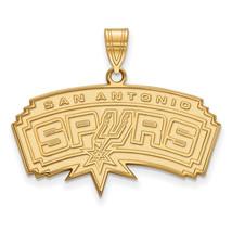 14ky NBA LogoArt San Antonio Spurs Large Pendant - $661.00
