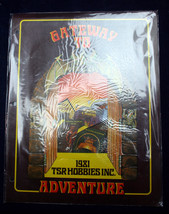 1981 Tsr Hobbies Gateway To Adventure D&D Dungeon Masters Modules Games Aids Set - $48.45