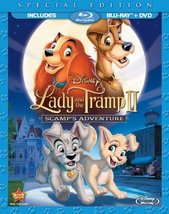Disney Lady and the Tramp 2: Scamps Adventure (Two-Disc Blu-ray/DVD)