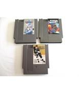NES Nintendo Games Lot Top Gun & Mission Impossible & Wayne Gretzky Hock... - $16.99
