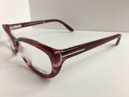 New Tom Ford TF 522 6 68 Burgundy 54mm Rx Women's Eyeglasses Frame
