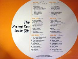 The Swing Era Records 33 1/3 RPM Capitol AA-191700 Vintage Collectible image 5