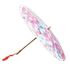 [Love of Butterfly] Rainproof Handmade Chinese Oil Paper Umbrella 33 inches