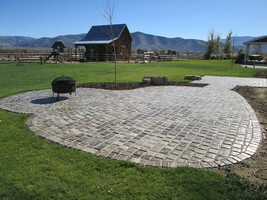 """12 Paver Molds Make 100s of 6x6x1.5"""" Castle Cobble Stones for Pennies. FAST SHIP image 1"""