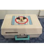 Vintage Mickey Mouse Record Player General Electric Solid State  - $28.81