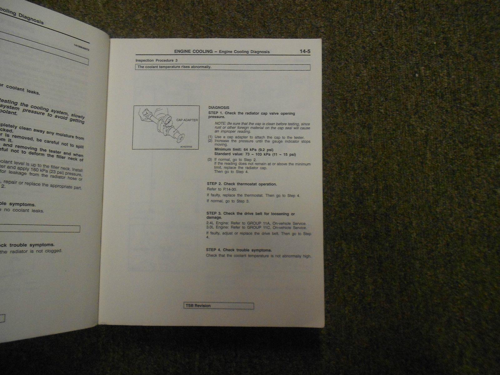 1999 2000 MITSUBISHI GALANT Service Shop Manual SET OEM DEALERSHIP BOOKS 1st EDI image 8