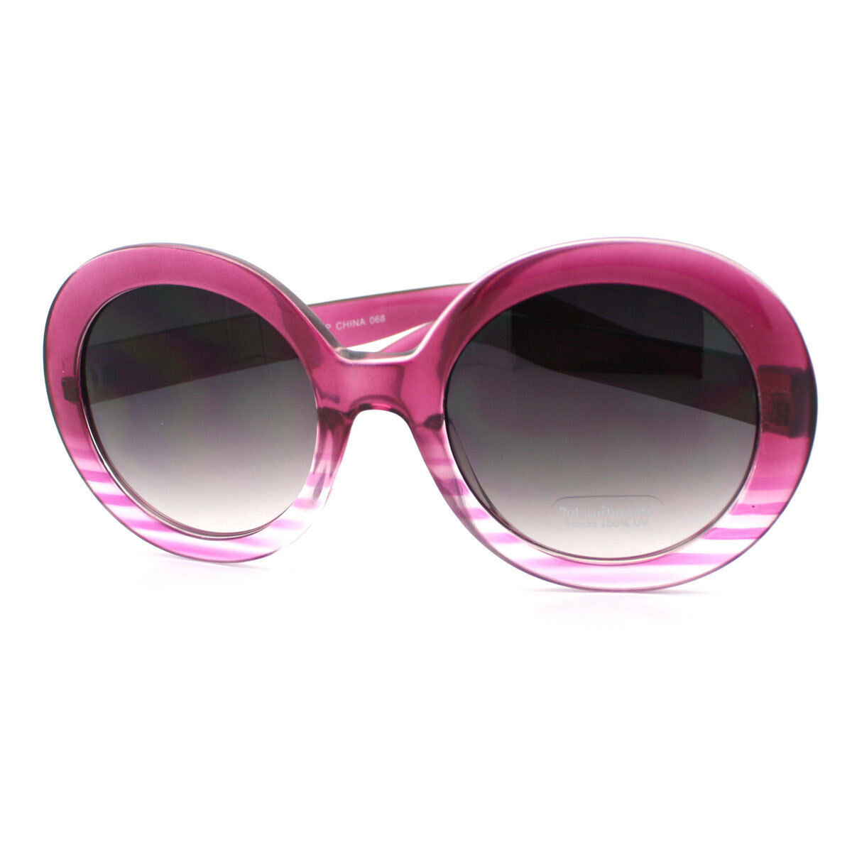 Womens Fashion Sunglasses Oversize Round Designer Frame UV 400