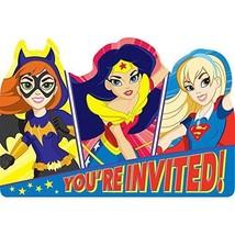 8 DC Super Hero Girls Birthday Party Post Card Invitation Invites - $3.95