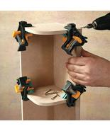 90 Degree Right Angle Clamp Fixing Clips Picture Frame Corner Clamp Wood... - $10.39+