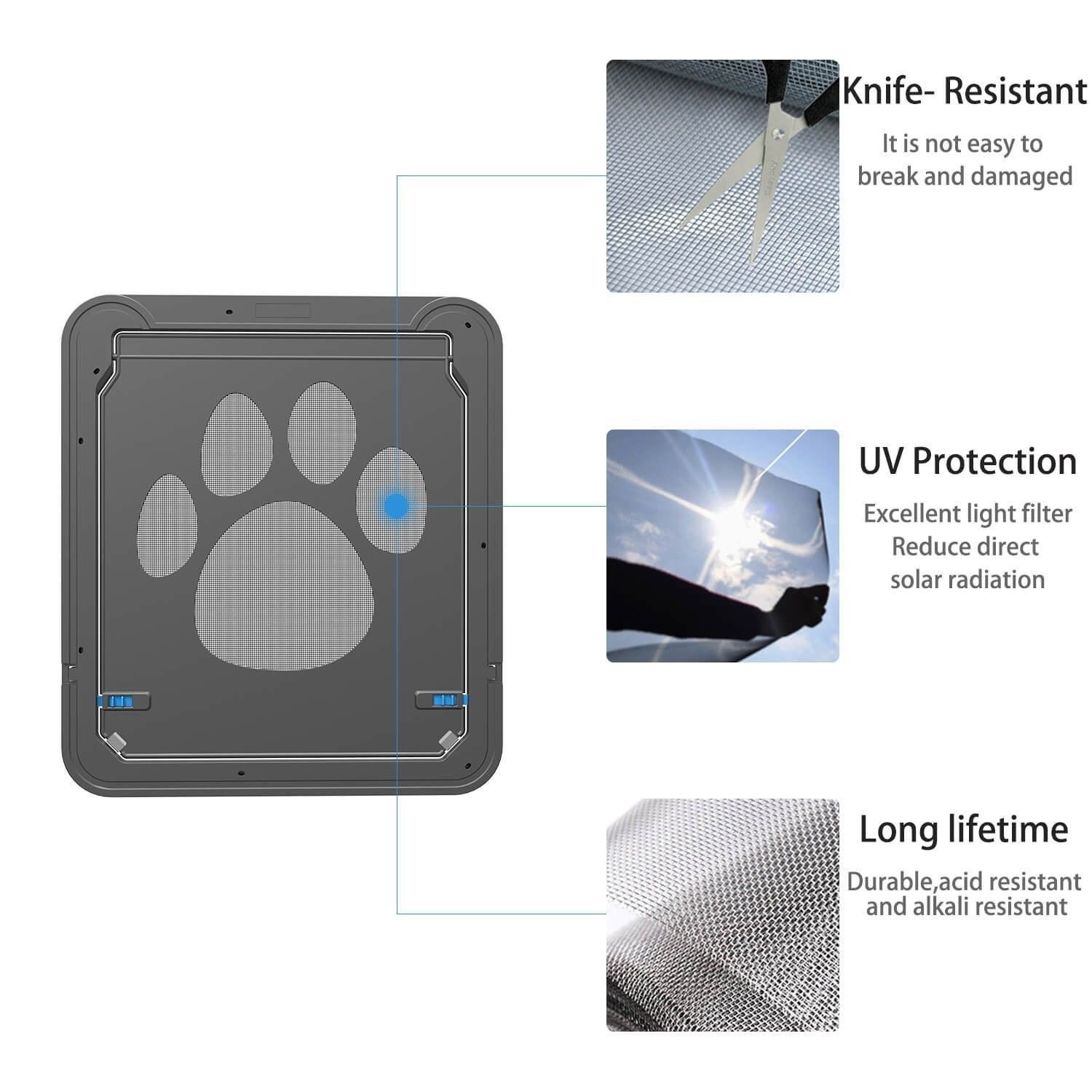 Dog Gate Way Magnetic Automatic And 22 Similar Items