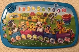 Leap Frog Touch Magic Counting Train, Learning Numbers, Animals, Songs, ... - $11.40