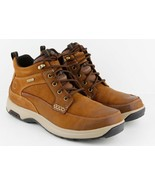 Mens Dunham 8000 Mid Boots - Tan Leather, Size 12 D US [CH3011] - $172.71 CAD