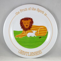 """Gentleness"" Kids Plate Brand NEW The Fruit Of The Spirit BPA-Free & Non... - $12.66"
