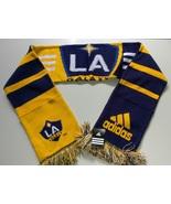 Adidas MLS Soccer Scarf Acrylic L.A GALAXY YELLOW MLS Team League - $15.00