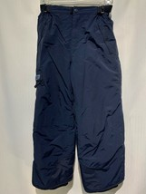 Boys The Childrens Place Ski Snow Pants Side Belt PLC-Tech Navy Blue Size 6 - $22.49