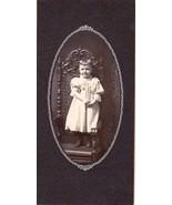 Mary L. Wilmot Cabinet Photo of Pretty Little Girl - White River Junction, VT - $17.50